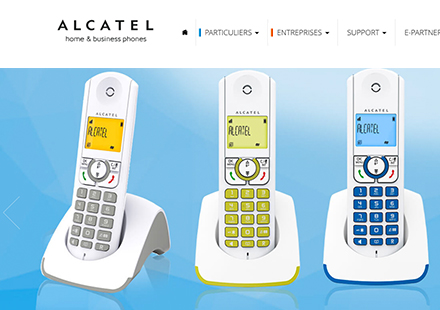 alcatel institutionnel