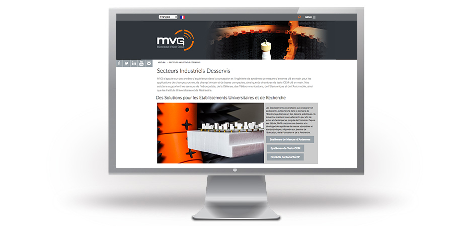 microwave vision group site internet